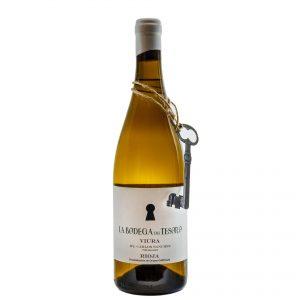 La Bodega del Tesoro. Vin blanc viura fermenté en fût, 2019.